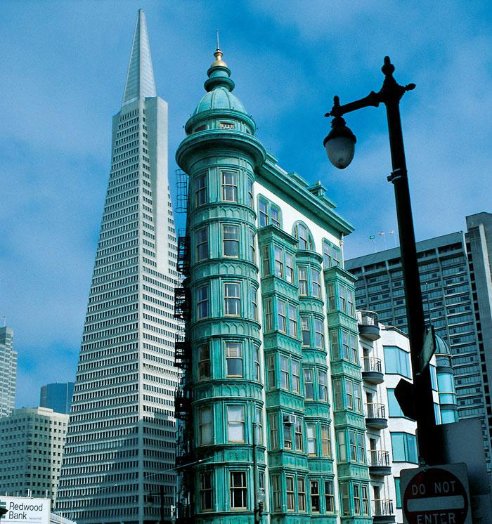 San Francisco Downtown, California