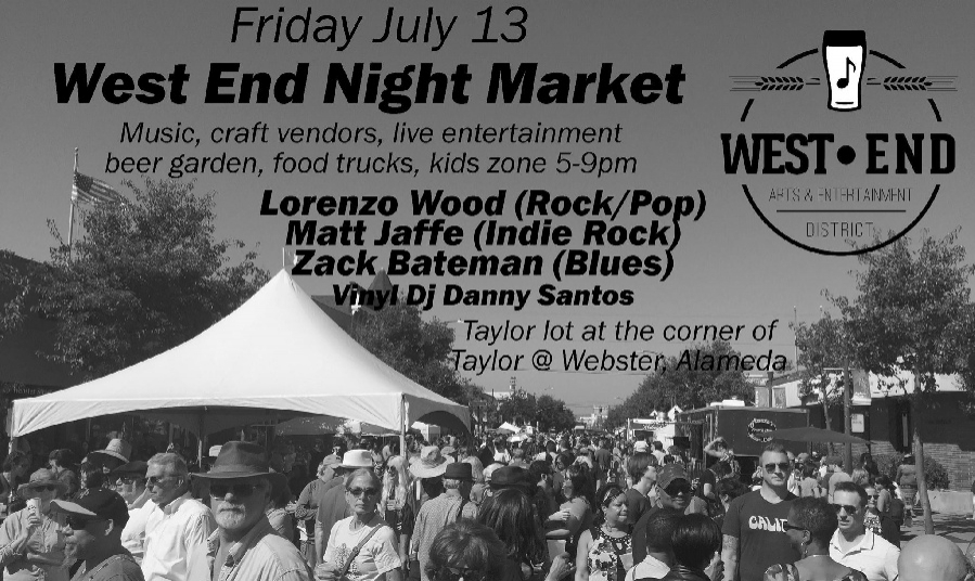 West End Night Market and 2nd Friday Art Walk