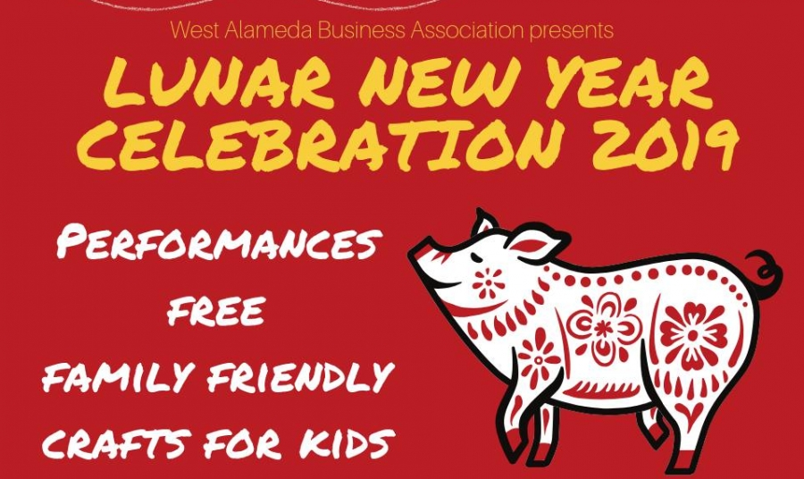 Lunar New Year Celebration on Webster 2019