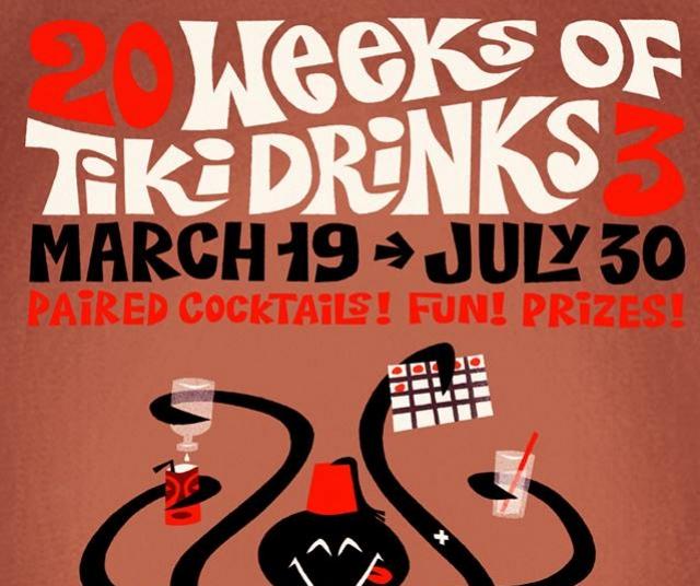20 Weeks of Tiki Drinks at Forbidden Island