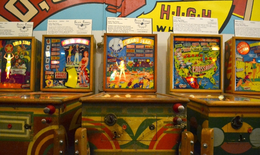 Facets of Alameda: Pacific Pinball Museum
