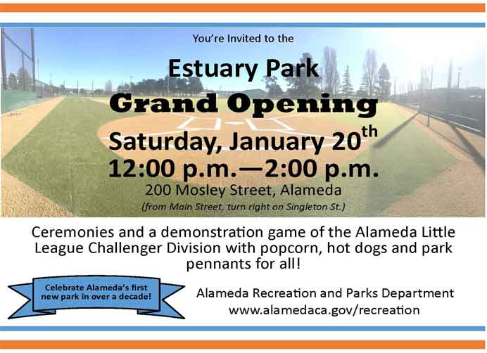 Estuary Park Grand Opening