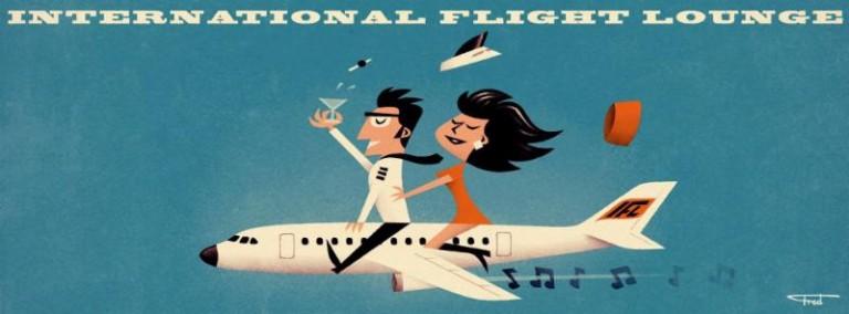 International Flight Lounge with DJ Jab