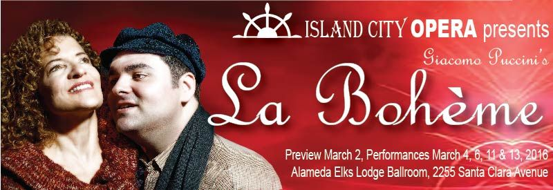 La Boheme at the Alameda Elk's Lodge