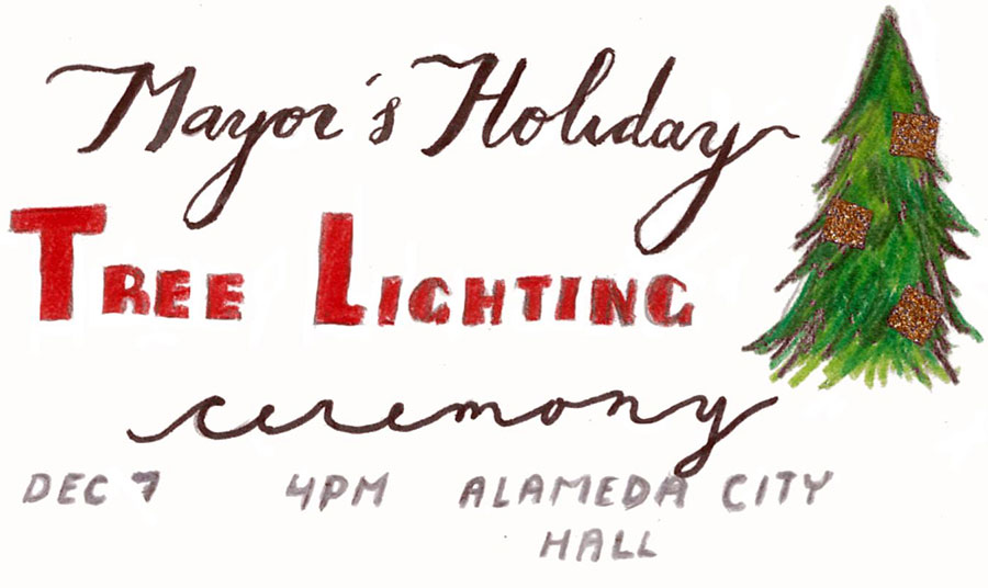 Mayor's Holiday Tree Lighting Ceremony and Hot Cocoa Crawl