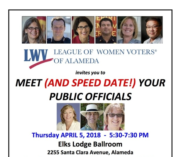 Speed Date Your public Officials!
