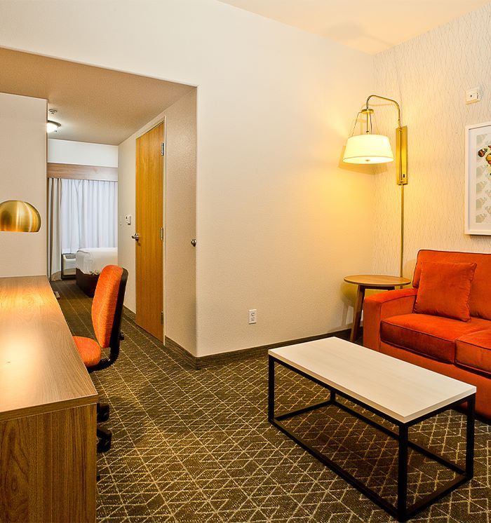 Hawthorn Suites By Wyndham-Oakland/Alameda 1 King 1 Sofa Beds Executive Suite